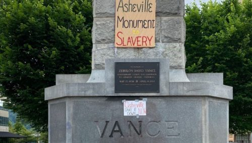 Vance-Monument-avltoday-asheville-nc-protests